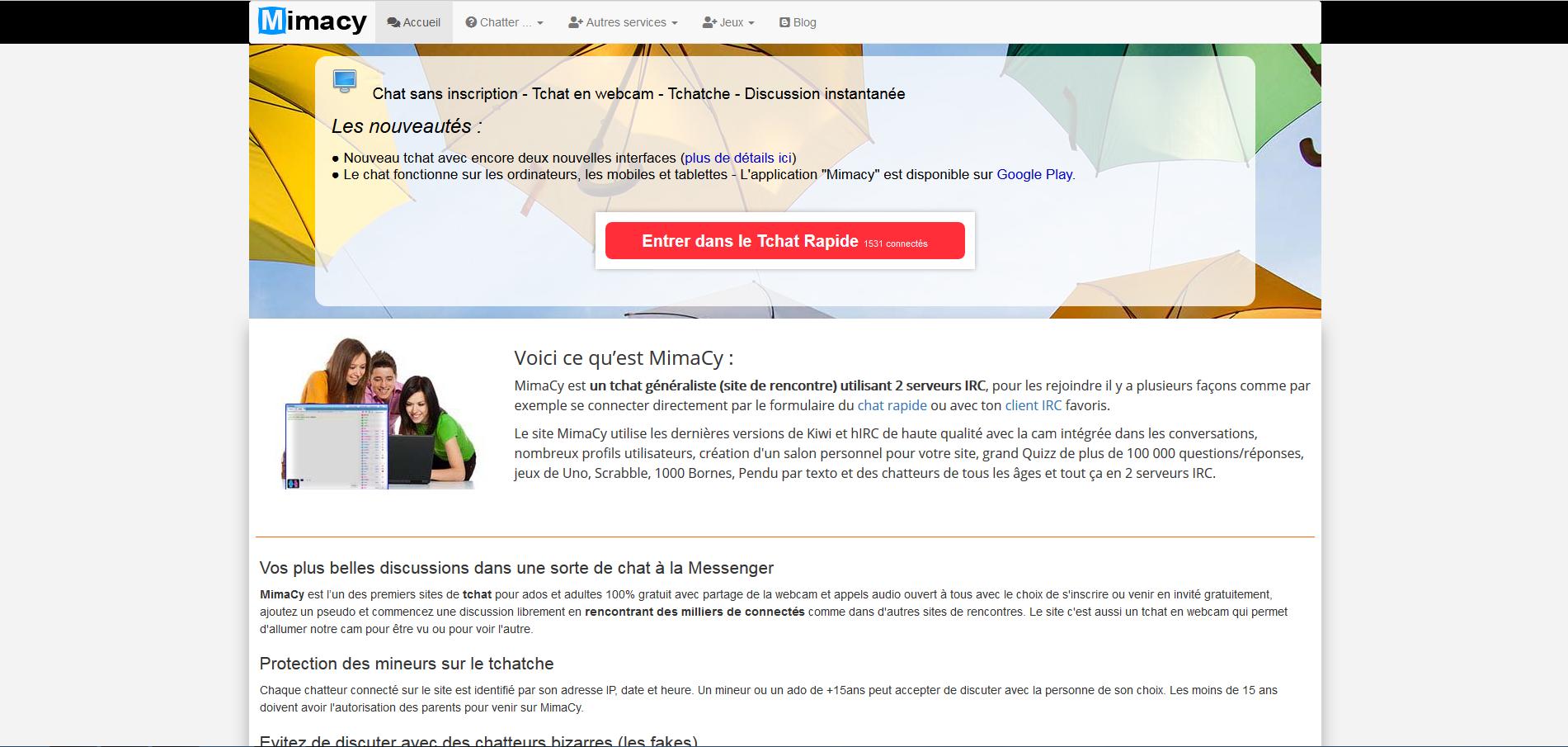 Sans site inscription chat Chat gratuit